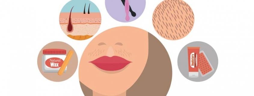 بهترین راه از بین بردن موهای صورت