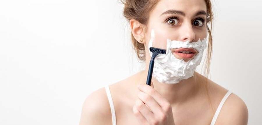 تراشیدن یا اصلاح مو-از بین بردن موهای صورت