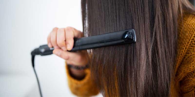 از وسایل حالت دهنده مو با حرارت زیاد استفاده نکنید.-درمان ریزش مو