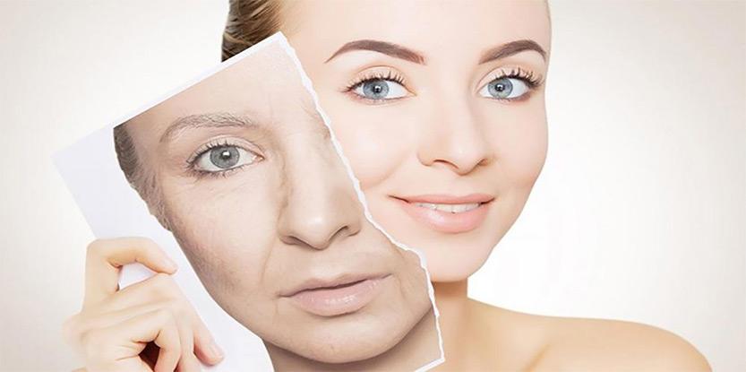 درمان لکه های پوستی-پیری زودرس